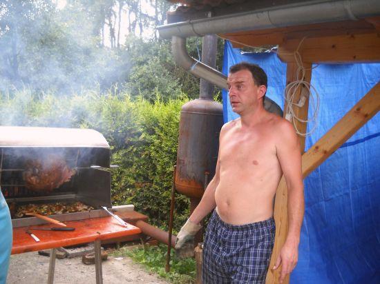 Oslava narozenin pana Miškáře