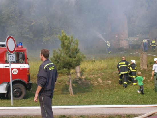 Požár u Hlávku