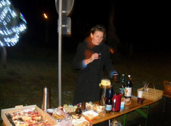 Štědrovečerní setkání na Chloumeckém Václaváku