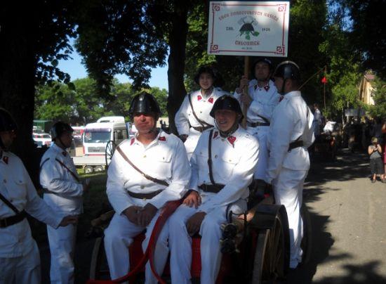 Hasičské slavnosti v Litoměřicích