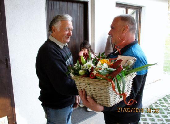 Oslava narozenin pana Prokopa Nekvapila