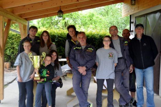 Okrsková soutěž v Třebověticích
