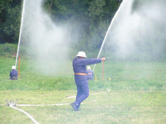Mokrovousy-hasičské zavody