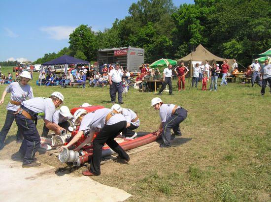 100 let hasičů - okrskové cvičení