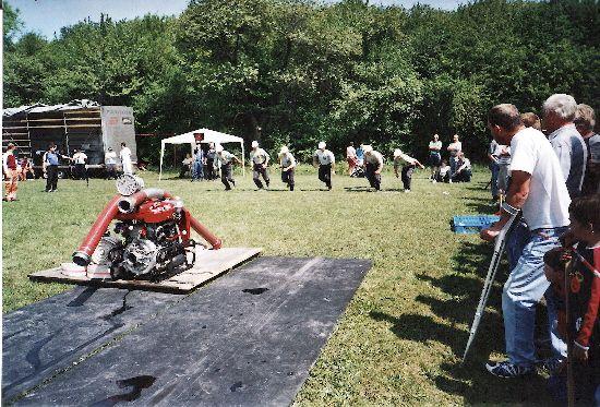 Okrsková soutěž v Třebnouševsi