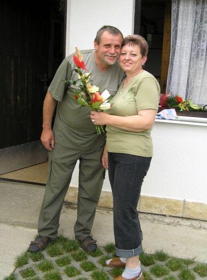 Oslava padesátin paní Dufkové