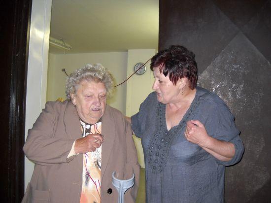 Oslava šedesátin paní Mešejdové