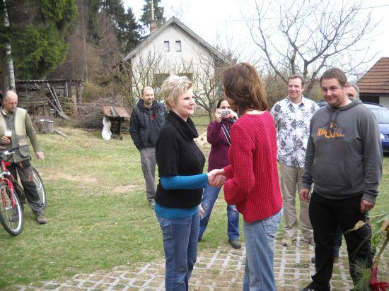 Oslava třicetin paní Jitky Dufkové